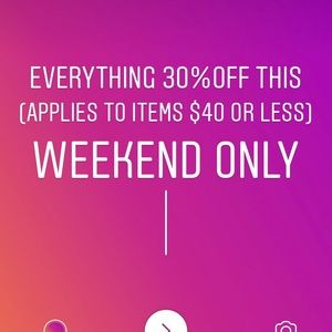 Denim - 30% off items of $40 or less